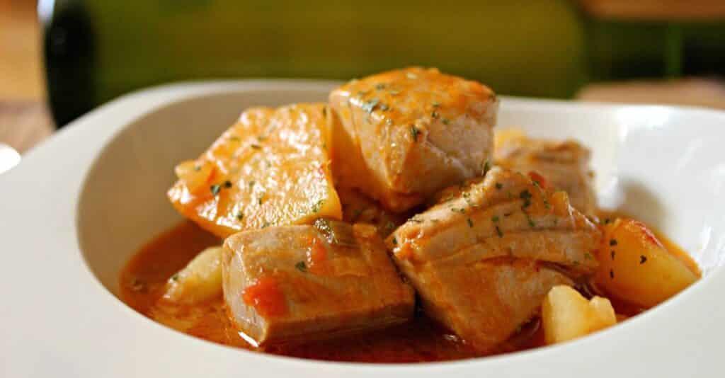 традиционное блюдо испании